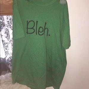 "Tops - ""Bleh"" t-shirt"